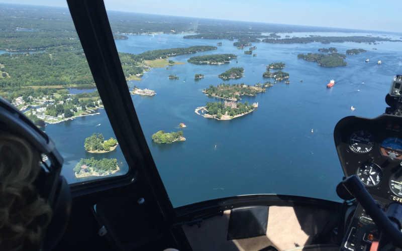 helicoptero mil islas ontario canada