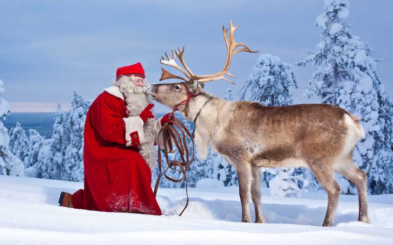 Ver Papa Noel en Laponia