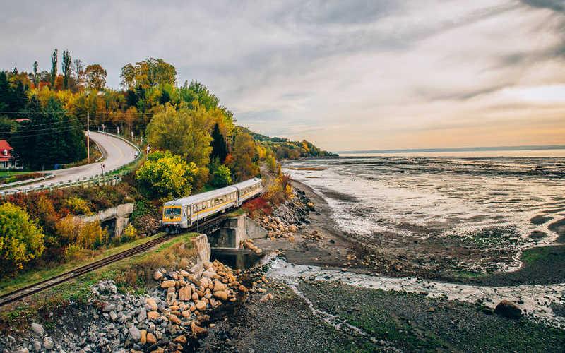El tren panorámico de Charlevoix