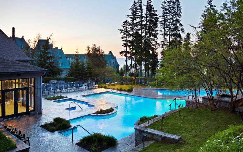 hotel de lujo fairmont quebec canada