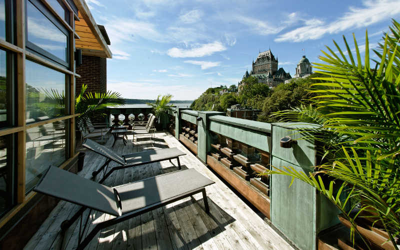 hotel terraza penthouse quebec