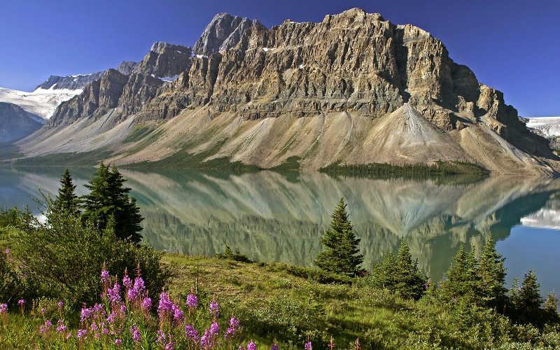 disfrutar de lagos glaciares de canada