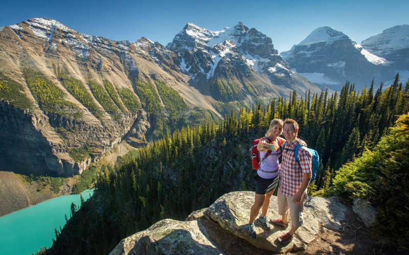 explorar senderos de aventura en canada