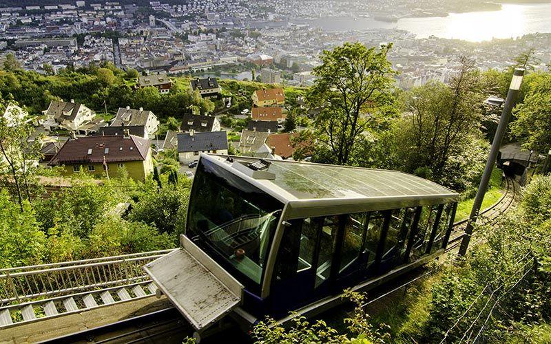 funicular-bergen-noruega-floibanen