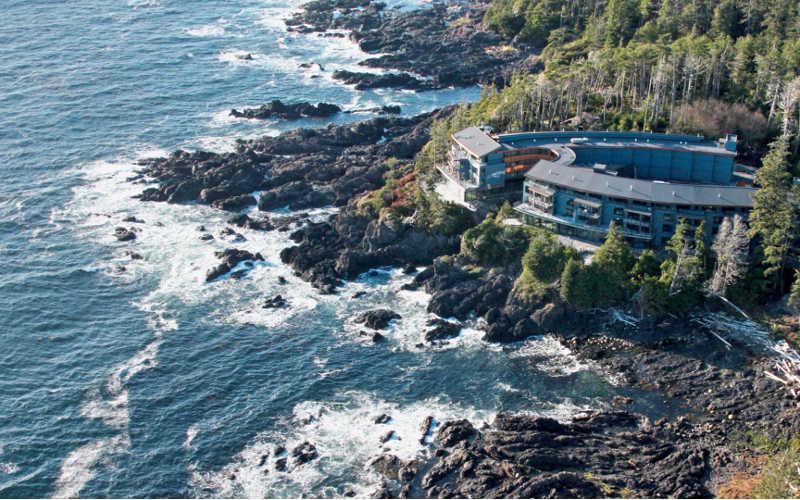 hotel de lujo en la isla de vancouver canada