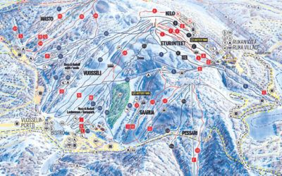 viaje ruka esqui laponia