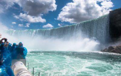 Las cataratas del Niágara en Canadá