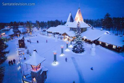 central-square-santa-claus-village