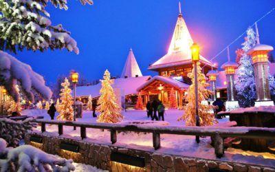 Visitar el Pueblo de Papa Noel en Rovaniemi