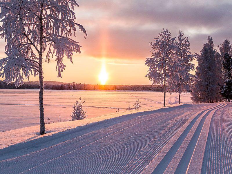 La Laponia más completa; la del Puente de Diciembre