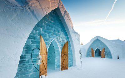 El hotel de hielo de Québec Canada