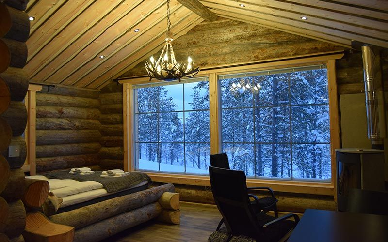 cabana-madera-laponia-inari-saariselka-interior