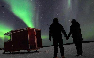 ver-auroras-boreales-cabana-movil-lago-inari
