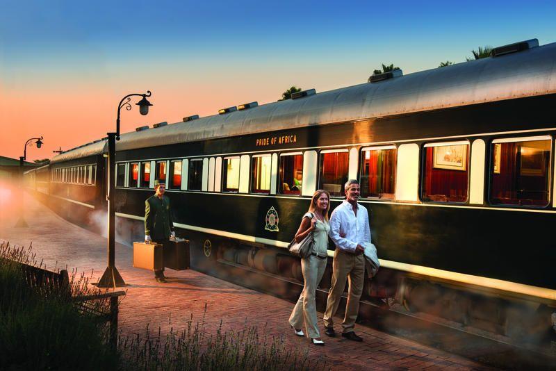 Viaje de ensueño en tren de lujo Rovos por Sudáfrica