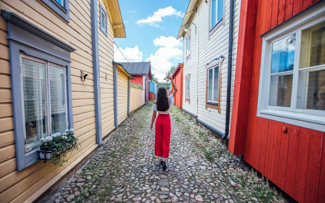 El encanto del pueblo pintoresco de Porvoo