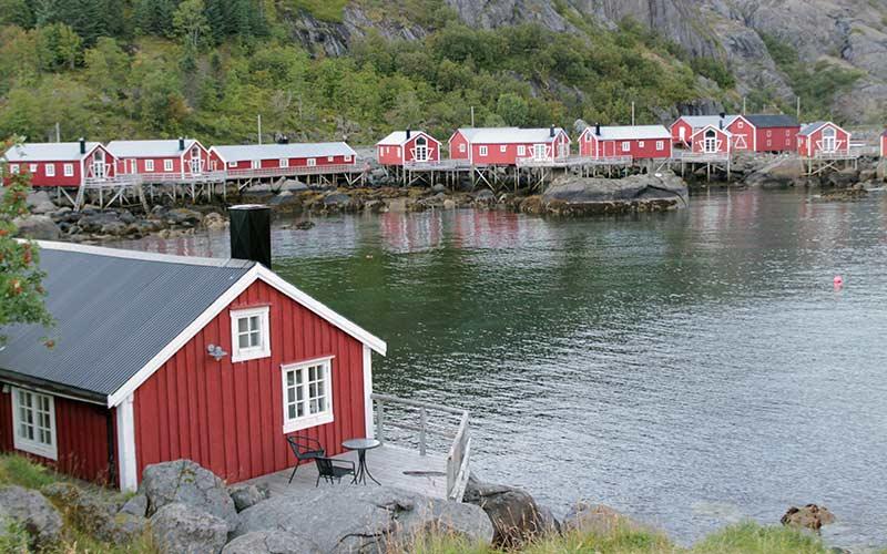 casa-rorbuer-lofoten-noruega