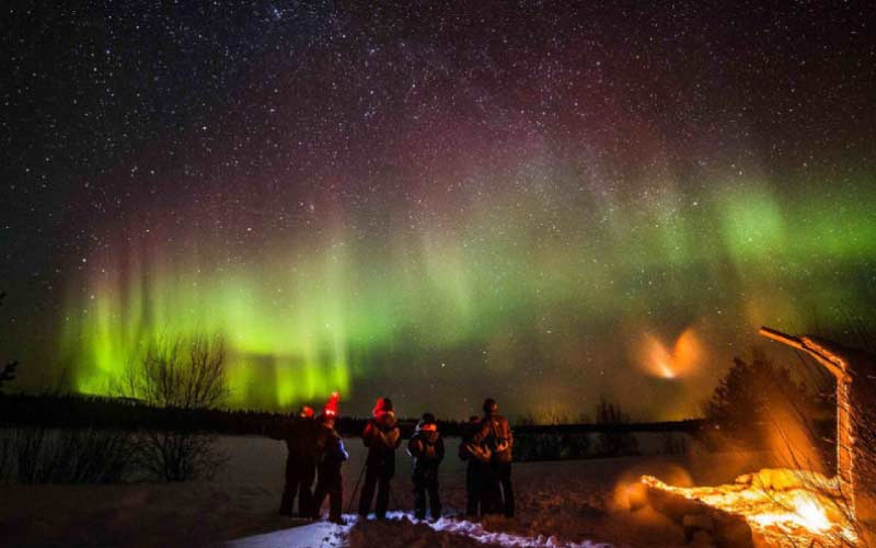 ver-auroras-boreales-cazador-rovaniemi