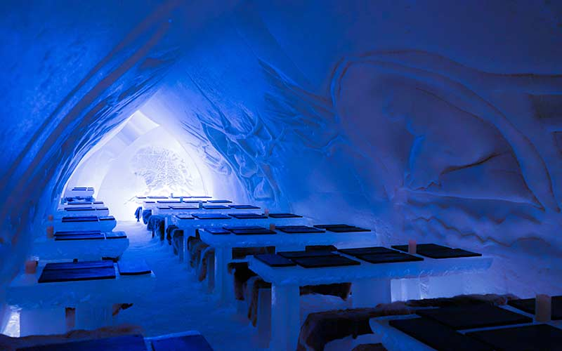 hotel-de-hielo-cena-restaurante-rovaniemi-navidad