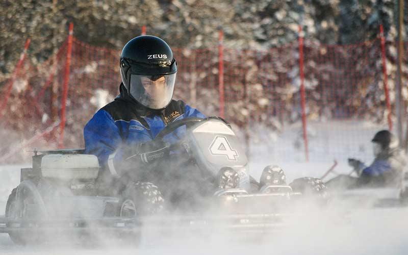 karting-sobre-hielo-laponia