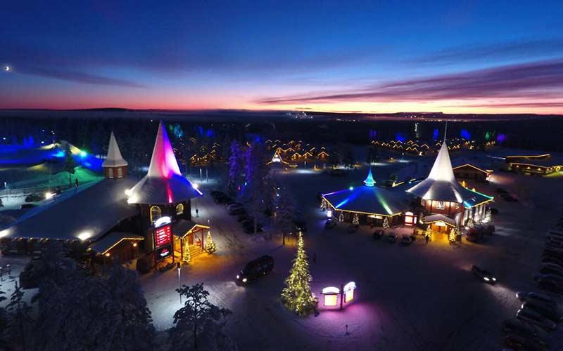 luces-navidad-pueblo-de-santa-rovaniemi