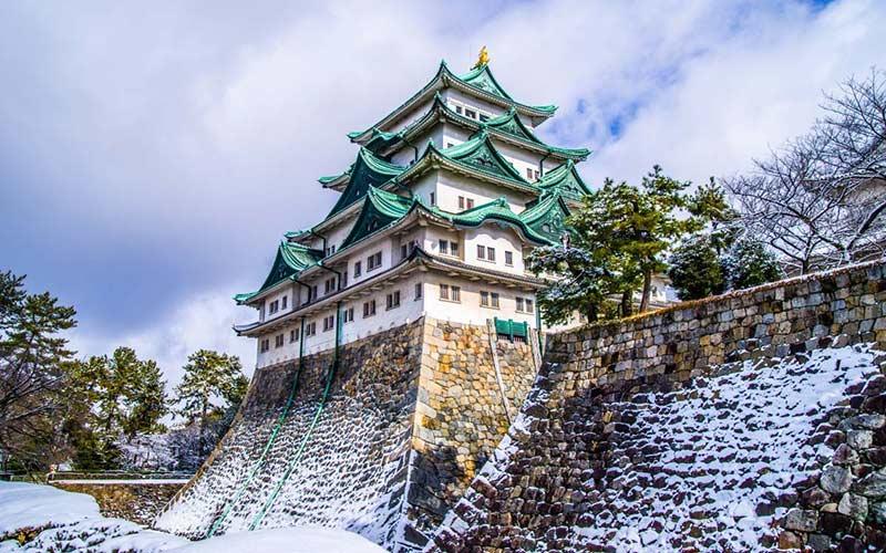 castillo-nagoya-invierno-luna-de-miel-japon-maldivas