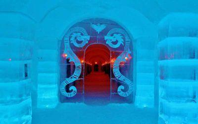El hotel de hielo Sorrisniva Igloo Hotel en Alta