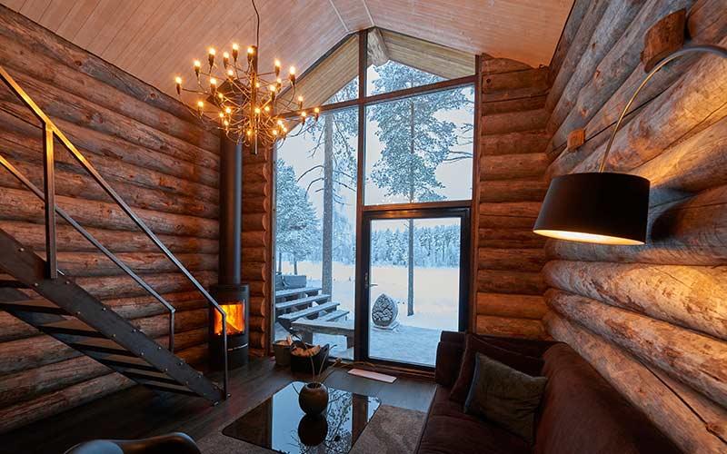 luxury-cabana-de-cristal-grande-interior-laponia-sueca