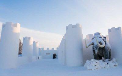 Castillo de nieve en Kemi