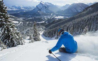 Las mejores estaciones de esquí de Canadá