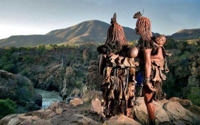 Los himbas en Namibia