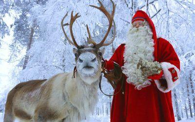 El gran viaje de Santa Claus desde Rovaniemi (23.12 Santa is on His Way)